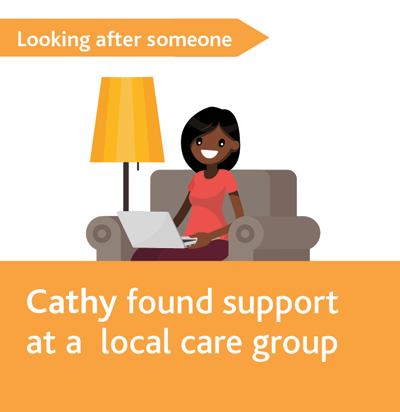 Cathy found support at a local care group